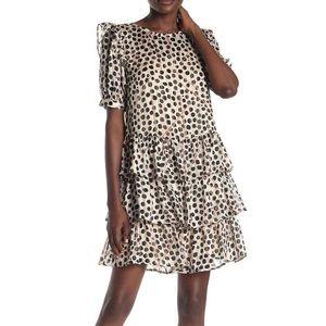 Nordstrom polka dot dress
